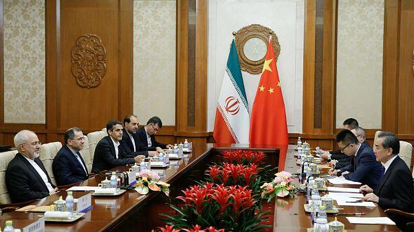 مذاکره مقامات چین و ایران