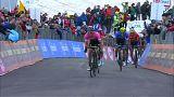 Yates gana la novena etapa del Giro y es más líder