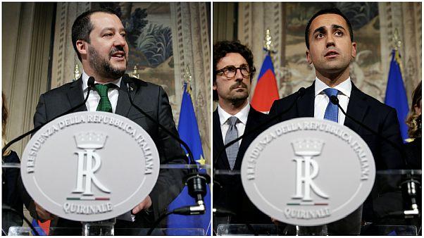 رهبران احزاب ساختارستیز ایتالیا
