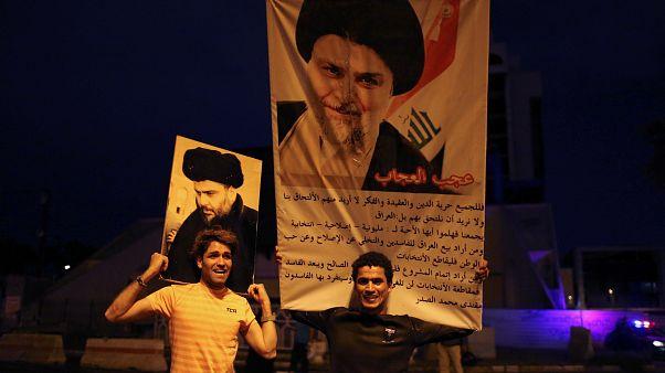 Législatives irakiennes : l'imam chiite Moqtada Al-Sadr en tête
