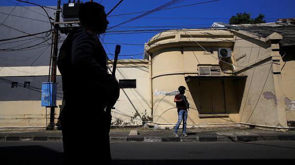 Surabaya in Indonesien: Explosion in Polizeizentrale
