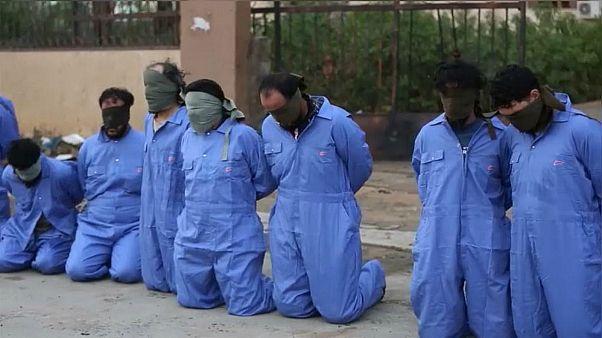 لقطة من تنفيذ الإعدام