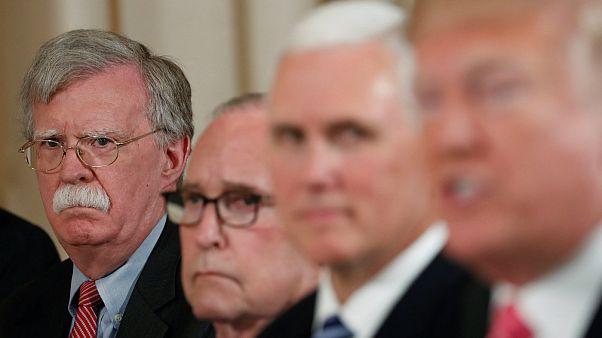 Trump'ın danışmanı Bolton: İran'la iş yapan Avrupalı şirketlere yaptırım olabilir
