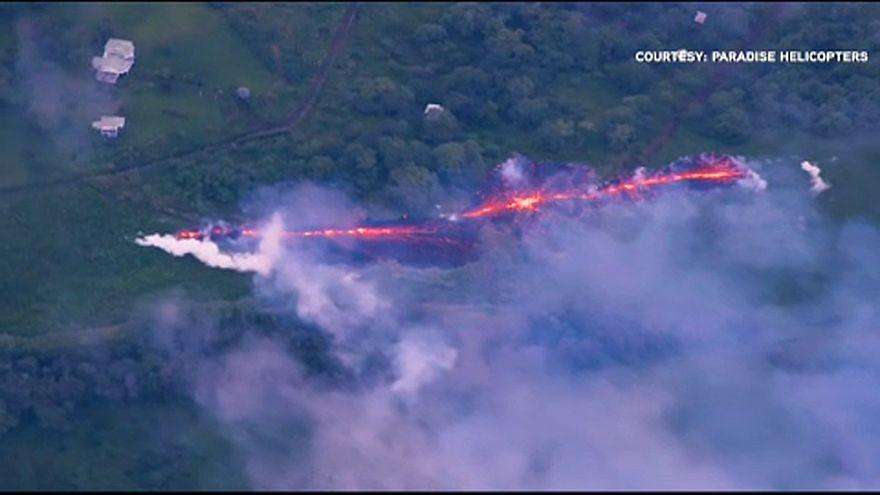 Hawaii: erősödik a vulkán tevékenysége