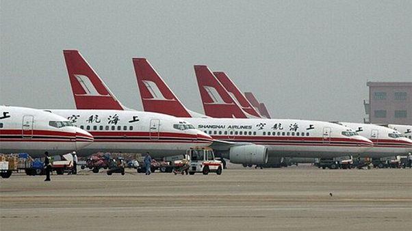 صورة لطائرات من طيران سيتشوان
