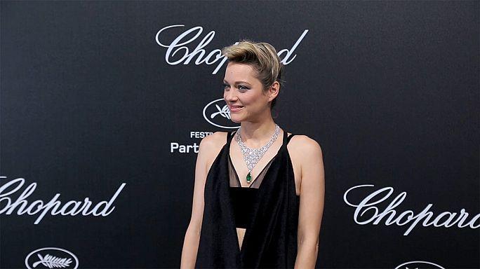 Diamonds on Cannes' red carpet