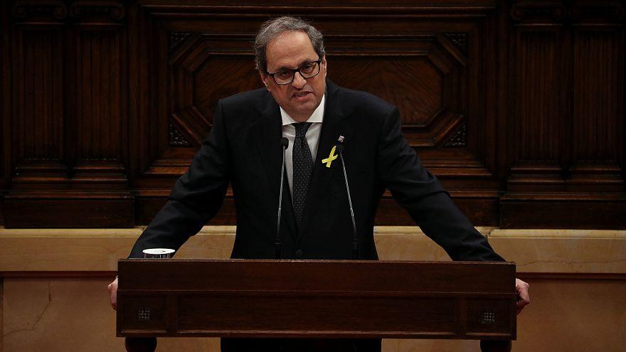 Quim Torra, elegido presidente de la Generalitat de Cataluña