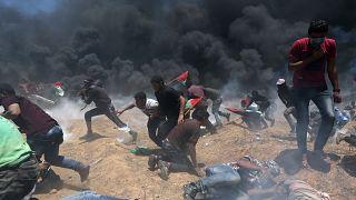 Más de 50 muertos en Gaza en las protestas contra la apertura de la embajada de EEUU en Jerusalén