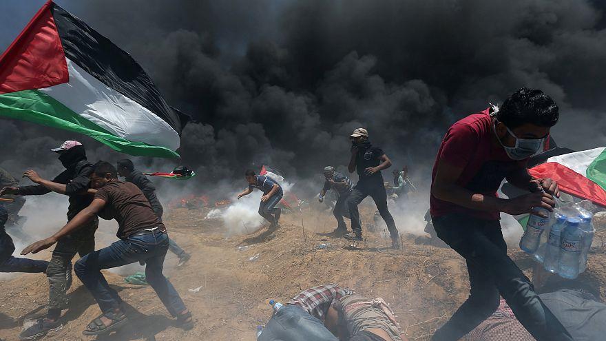 Dutzende Tote im Gazastreifen: Blutigster Tag seit 2014