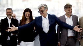 Wim Wenders em Cannes