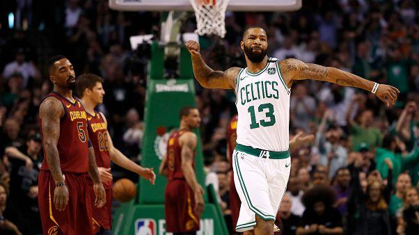 Celtics arrasadores no jogo um da final da Conferência Leste
