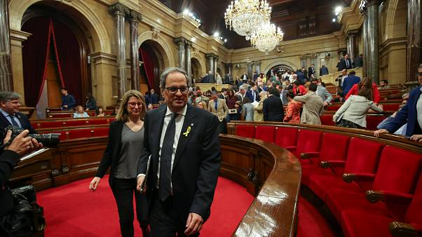 Katalonien: Parlament wählt Quim Torra zum Regionalpräsidenten
