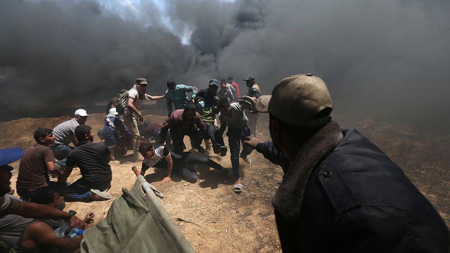 Cerca de 30 mortos em confrontos entre palestinianos e o exército de Israel