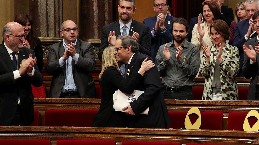 Quim Torra élu président de la Catalogne