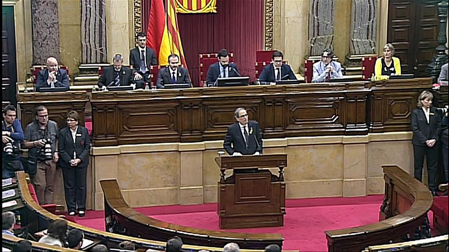 Katalonya'da yeni başkan Quim Torra