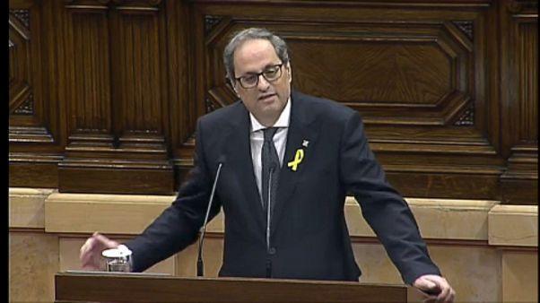 Quim Torra az új katalán elnök