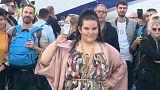 Евровидение: танец победительницы
