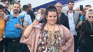 Netta Barzilai rentre en Israël après sa victoire à l'Eurovision