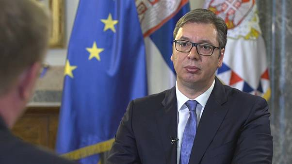"Serbian President Vučić on EU bid and making ""huge efforts"" to normalise Kosovo relations"