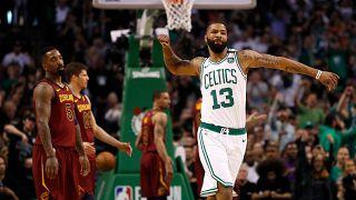 Boston écrase Cleveland d'entrée