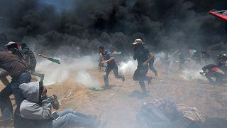 Φονικές συγκρούσεις στη Γάζα - Δεκάδες νεκροί και εκατοντάδες τραυματίες