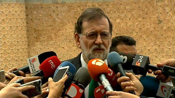 """Rajoy: """"La ley y la Constitución se van a cumplir"""""""