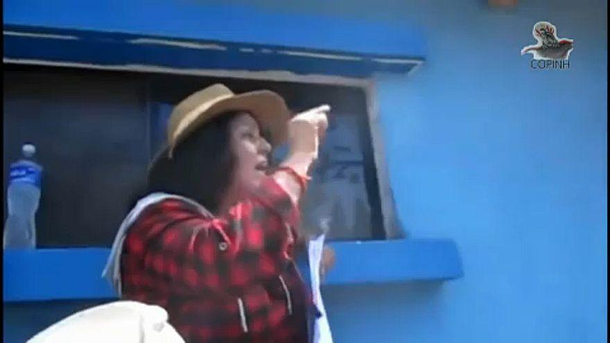 Honduras'ta öldürülen Caceres'in kızı Brüksel'den yardım istedi