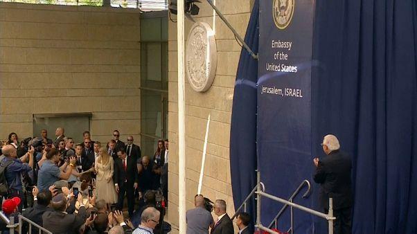 ABD Kudüs Büyükelçiliği'ni törenle açtı