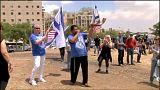 ABD'nin Kudüs büyükelçiliğini protesto eden İsrailliler
