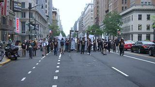 Proteste in Washington gegen Eröffnung der US-Botschaft in Jerusalem