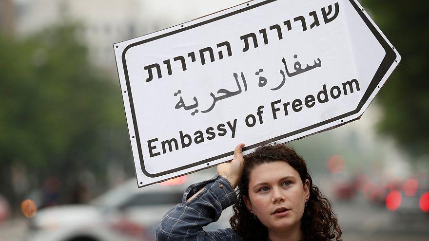 Jovens judeus apelam à paz em Washington