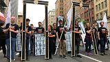 """""""Иерусалим - это не игра"""": марш протеста в Вашингтоне"""