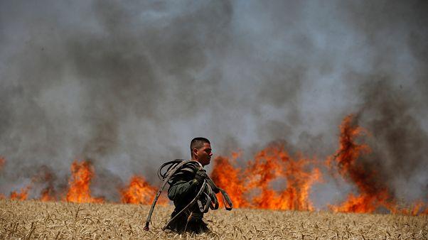 Το euronews στην αιματοβαμμένη Γάζα