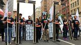 متظاهرون يهود في الولايات المتحدة ضد نقل سفارة بلادهم إلى القدس