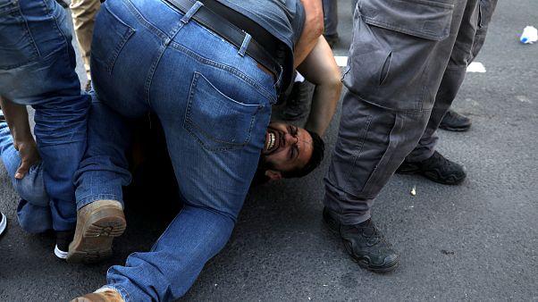 Violência e detenções em Jerusalém