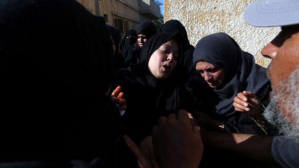 Palesztin elnök: mészárlás, ami történt