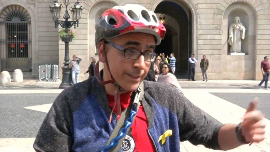 Alivio e incertidumbre en las calles de Cataluña