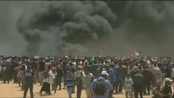 Háromnapos gyászt és sztrájkot hirdetett a palesztin elnök