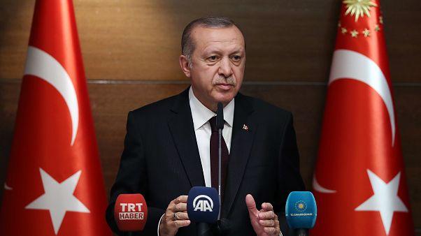 Erdoğan'dan ABD'ye: Hakan Atilla'yı suçlamak Türkiye'yi suçlu ilan etmektir