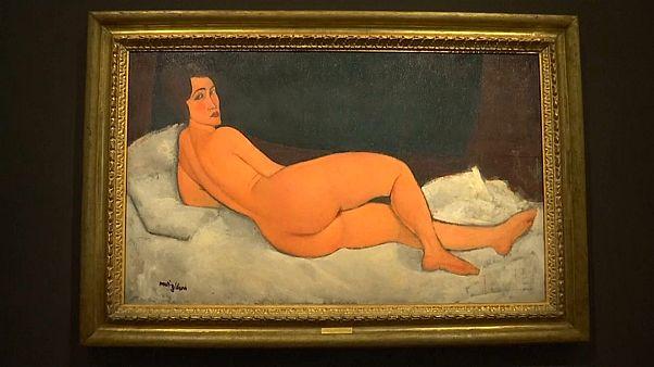 Nu de Modigliani bate recorde da Sotheby's