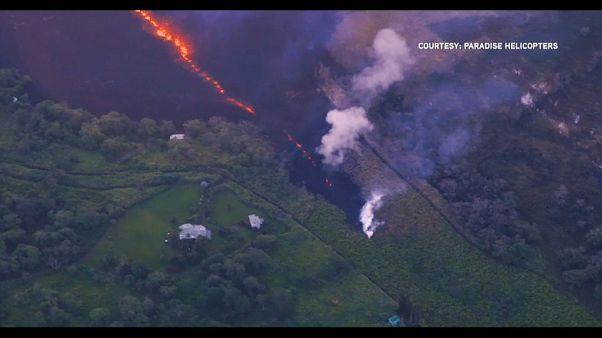 Increased volcanic activity on Hawaii raises escape fears