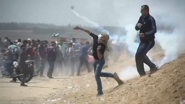 الاحتجاجات في قطاع غزة