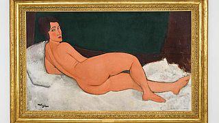 Nouveau record pour un nu de Modigliani