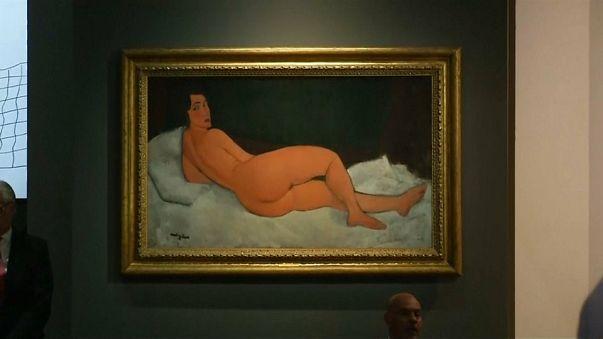 Un Modigliani vendido por 132 millones