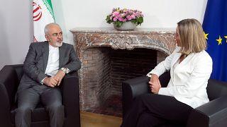 Atomvereinbarung: Sarif zu Gesprächen in Brüssel