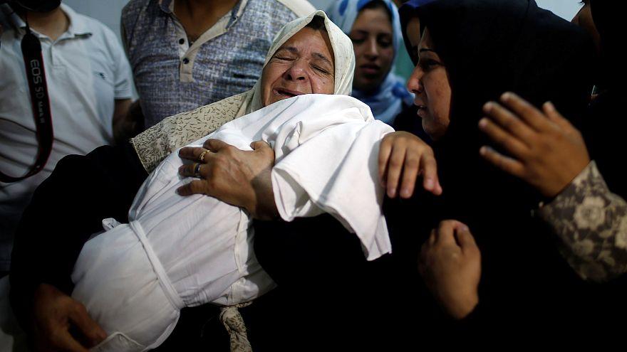 الرضيعة ليلى الغندور قتلت بالغاز المسيل للدموع الاسرائيلي