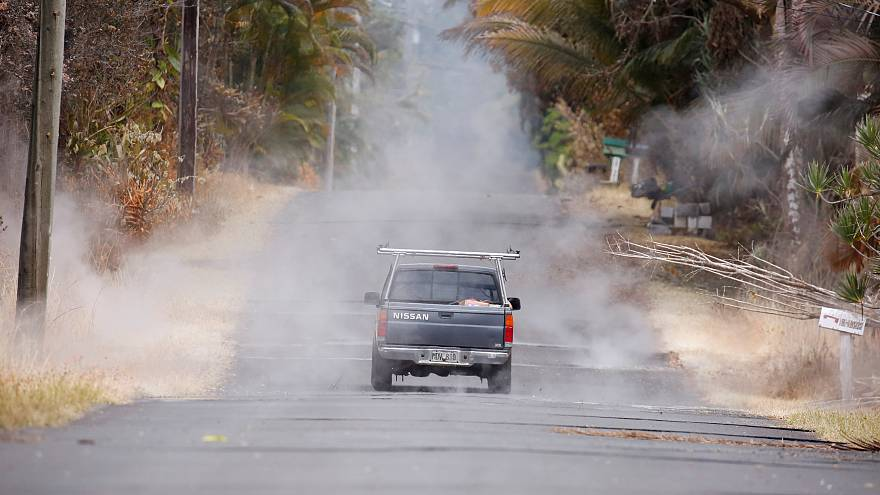 Hawaii'de lavlar nedeniyle binlerce kişi tahliye edilecek