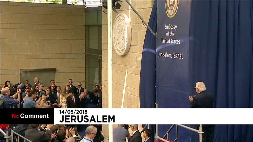 Inauguration sous tension de l'ambassade américaine à Jérusalem