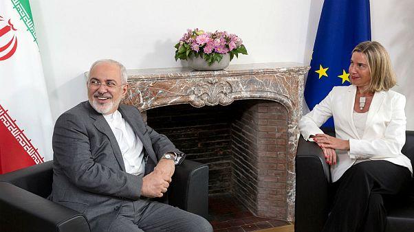موگرینی پس از دیدار با ظریف: با هم برجام را حفظ خواهیم کرد