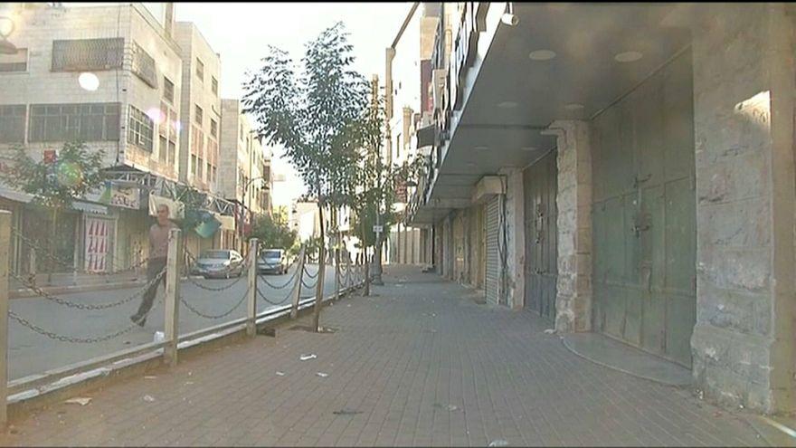 الإضراب يشل حركة الحياة في الأراضي الفلسطينية ردا على نقل السفارة الأمريكية إلى المدينة المقدسة